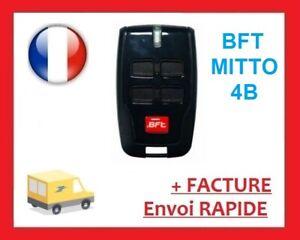 TELECOMMANDE BFT MITTO B RCB4, COMPATIBLE AVEC TOUTES LES BFT MITTO ET TRC