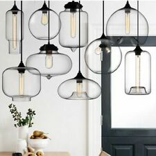 Pendant Lights Modern Glasses With LED E27 Metal Lustre Lamp For Bar/Restaurants