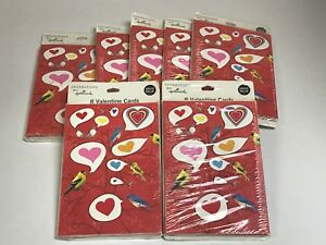 LOT OF HALLMARK VALENTINES DAY CARDS - 7 PACKAGES