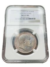 More details for 1902 king edwards vii penny a ngc graded coins a very lovely penny indeed