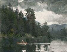 Homer Winslow Adirondack Lake Print 11 x 14   #6186
