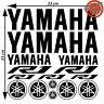 Kit Foglio 15 Adesivi Yamaha R1 R 1 Logo Nuovo Moto Vinile New Stickers 23x23cm