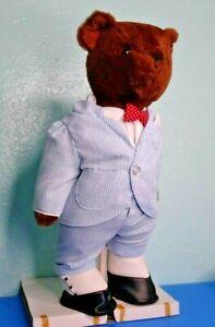 Danbury Mint Pappa Bear Stuffed Teddy 1988 Excellent in Box Please See Video