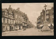 Gloucestershire Glos TEWKESBURY High St c1920s? PPC by Frith