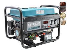 KS 3000E Stromerzeuger Generator Benzin Notstromaggregat 3000 Watt mit E-Start