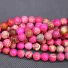 Natural Sea Sediment Jasper Gemstones Round Beads 15'' 4mm 6mm 8mm 10mm 12mm
