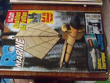 11µµ Revue RC Marine n°145 Plan encarté Nautilus de Fulton / Sintra
