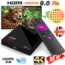 NEW A5X+ Android 9.0 Pie TV Box Quad Core 2GB+16GB HDMI Media Player HD WIFI UK