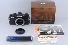 MINT!! Olympus OM-4 Ti Black 35mm SLR Film Camera W/Original Box From Japan #44