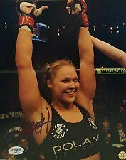 Ronda Rousey Signed UFC/WWE 8x10 Photo PSA/DNA COA