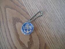 Vintage Usn U.S. Navy Keychain Usn Photo Key Ring