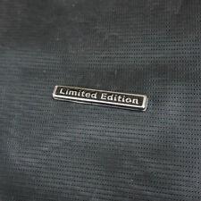1x Metal Silver Black LIMITED EDITION Sticker Emblem Badge Motor Sport Engine 3D