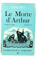 Le Morte d'Arthur by Thomas MALORY: Vol 2  Everyman's Library HC DJ 1964