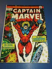 Captain Marvel #29 Bronze age Jim Starlin Thanos Avengers VGF