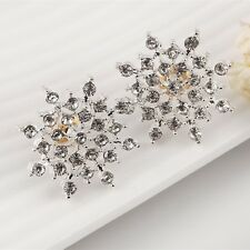 Cubic Stud Earrings Cubic Zirconia Dianmante Earrings Stud CZ Bridal Jewelry