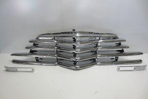 1947 47 Chevrolet Chevy Car Grille Original Triple Plated Chrome SHOW CONDITION