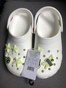 Deadstock Bad Bunny x Crocs Classic Clog  Glow In The Dark Authentic REAL