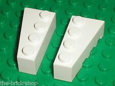 Lego White Wedge 4x2 ref 41767 41768 / set 7751 10129 75053 4403 7198 4402 21050