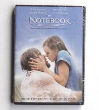 Notebook 2004 PG-13 romantic movie, new DVD Ryan Gosling, Rachel McAdams, Garner