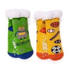 2-Pack Cabin Sock MUK LUKS Unisex Children's -KIDS SOCK - SIZE L