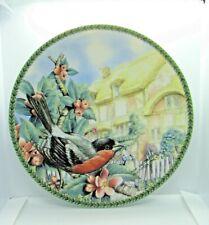 """Decorative Robin Bird Plate 8"""""""