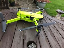 Fluorescent Yellow Hi-Glow / Hi-Vis Waterproof DJI Mavic vinyl skin / wrap decal