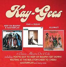 Kay-Gees - Keep On Bumpin & Masterplan / Find A Friend / Kilowatt [New CD] UK -
