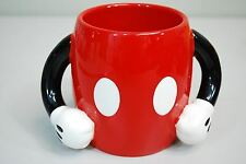 Mickey Mouse Body & Arms Parts Pants Figure Coffee Mug by Disney Galerie