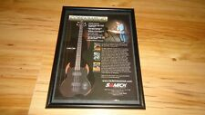 SAMICK COBRA bass guitar-2004 framed original advert