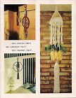 Macrame Plant Hanger, Chimes  More - Craft Book: J100 To Knot or Not to Knot