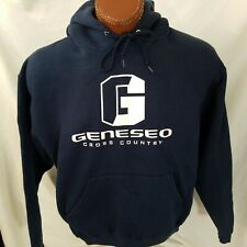 Geneseo Cross Country Knights Blue Sweatshirt Hoodie Super Cotton XL X-Large