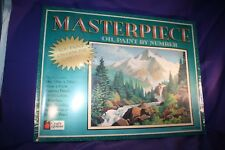 Paint By Number Craft House Oil Painting MOUNTAIN STREAM 13204 NIB SEALED 1997