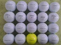 20 x Titleist Pro V1 Golf Balls  Mint/Pearl Condition (2019/20 Model)
