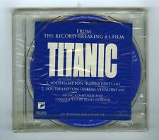 CD PROMO SINGLE (NEW) OST TITANIC SOUTHAMPTON JAMES HORNER EDITION LIMITED