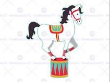 PITTURA DISEGNO l'Esecuzione di cavallo bilanciamento Kids art print poster mp3823b
