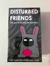 Disturbed Friends Party Card Game Brand New Factory Sealed Ages 21+