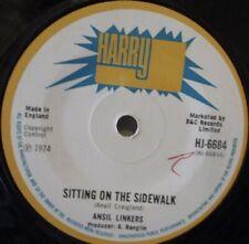 "ANSIL LINKERS - Sitting On The Sidewalk - 7"" Single"
