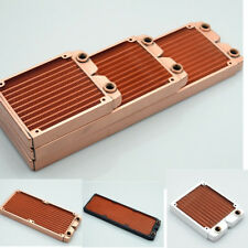 360 Whole Copper Radiator 3x120mm for PC Computer Liquid Water Cooling
