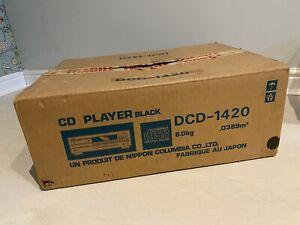 Denon DCD-1420 Audiophile High End CD Player Remote Control Original Box