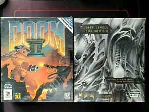 Doom II and Master Levels for Doom 1994 (New and Sealed) PC