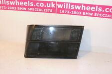 BMW E34 M5 Rear Fog Light Sedan Trunk Tail Light Genuine Smoked Hella Black RHS