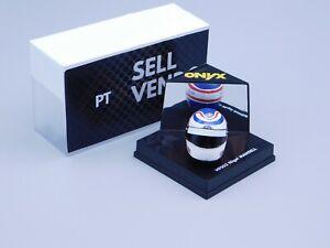 ONYX 1/12 Scale  Diecast Model - Nigel Mansell HF003 Formel 1 Helm selten