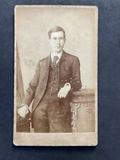 Victorian Carte De Visite CDV: Young Gentleman: Henderson: London