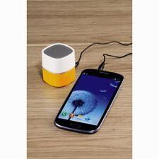 Portátil Mini Altavoz con jack de 3.5 mm para MP3 Iphone Ipad Naranja/Blanco