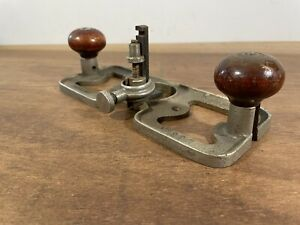 Rare Antique Edward Preston 1399P Patent Router Plane Woodwork Tool