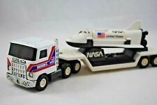 BUDDY L NASA MACK Truck & Low-Loader w CHALLENGER Shuttle Like TONKA Mix Job Lot