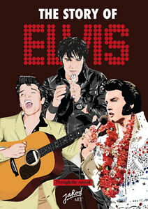 Elvis Presley - The Story of Elvis - Through The Eyes Of Jarod Art book