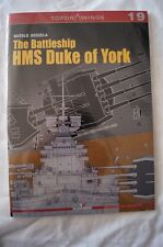WW2 British The Battleship HMS Duke of York Kagero Model Reference Book