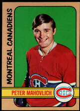 Pete Mahovlich 1972-73 Topps #42 Canadiens