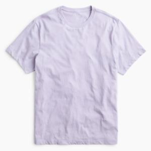 J Crew T Shirt Mens 4X Lavender Mercantile Regular Fit Short Sleeve Classic Tee